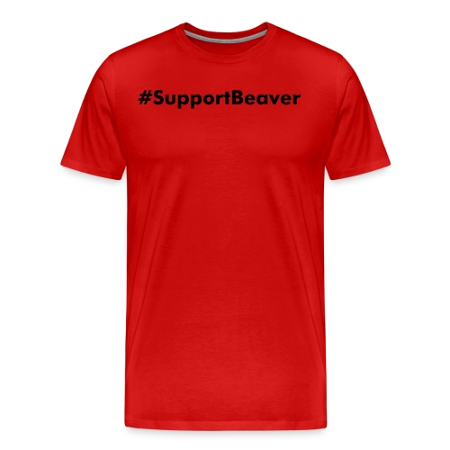 SupportBeaverMenShirt - Men's Premium T-Shirt