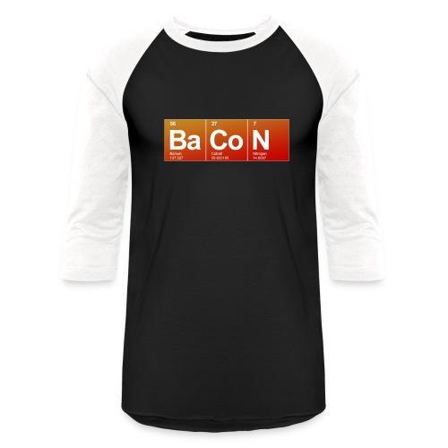 Mens Bacon  - Baseball T-Shirt