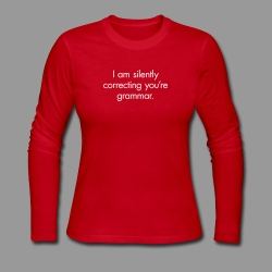 Silent Correction - Women's Long Sleeve Jersey T-Shirt