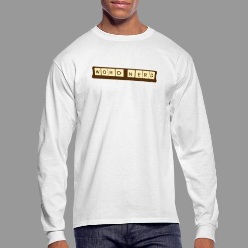 Word Nerd - Men's Long Sleeve T-Shirt