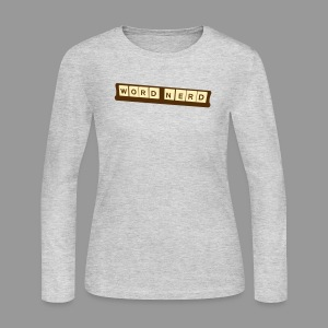 Word Nerd - Women's Long Sleeve Jersey T-Shirt