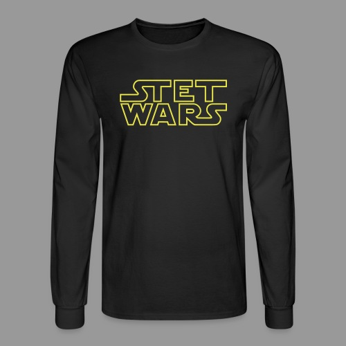 Stet Wars - Men's Long Sleeve T-Shirt