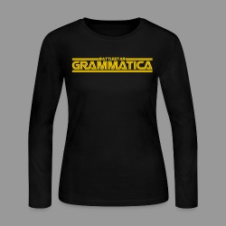 Battlestar Grammatica - Women's Long Sleeve Jersey T-Shirt