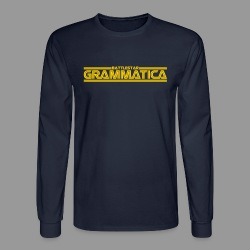 Battlestar Grammatica - Men's Long Sleeve T-Shirt