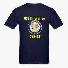 USS Enterprise CVN-65 Tribute Shirt