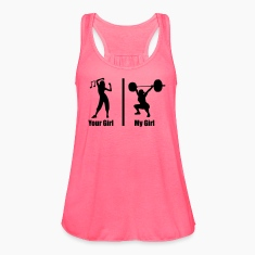 Your Girl My Girl Funny Fitness Tanks