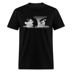 Hybrid Librarian Men's T-Shirt - Men's T-Shirt