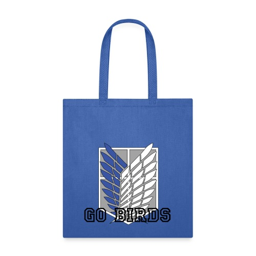 Go Birds blue tote bag - Tote Bag