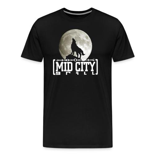Wolf Moon Mid City T - Men's Premium T-Shirt