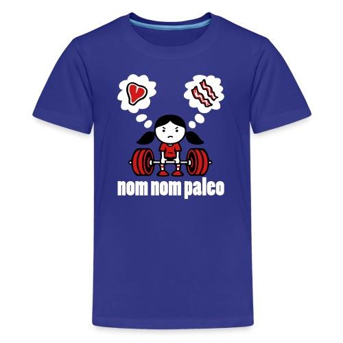 Deadlift Girl (Kids) - Kids' Premium T-Shirt