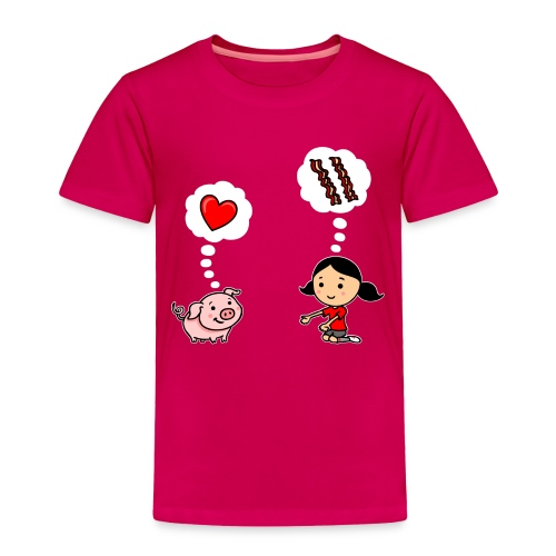 For the Love of Bacon (Toddler) - Toddler Premium T-Shirt