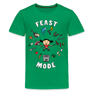 Kids' Shirts ~ Kids' Premium T-Shirt ~ Feast Mode (Kids)