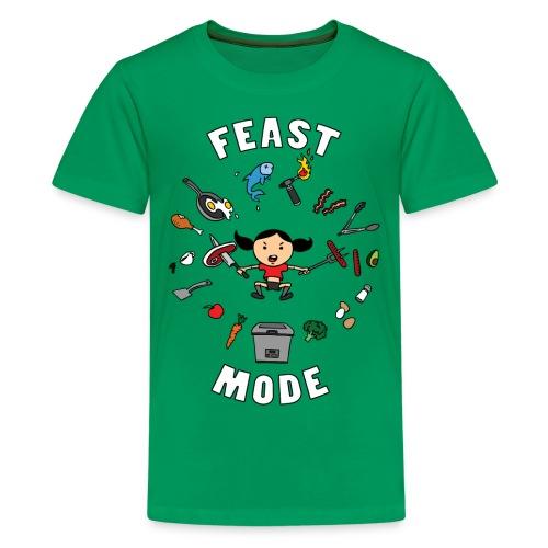 Feast Mode (Kids) - Kids' Premium T-Shirt
