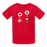 Kids' Shirts ~ Kids' T-Shirt ~ For the Love of Bacon (Kids)