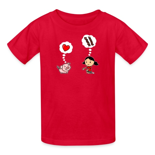 For the Love of Bacon (Kids) - Kids' T-Shirt
