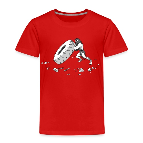 Stone Age Strength (Toddler) - Toddler Premium T-Shirt