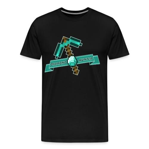 Diamond Hunter Adult Tee - Men's Premium T-Shirt