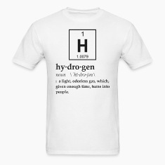 Definition of Hydrogen T-Shirts
