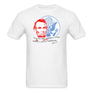 Abraham Lincoln shirt - Men's T-Shirt