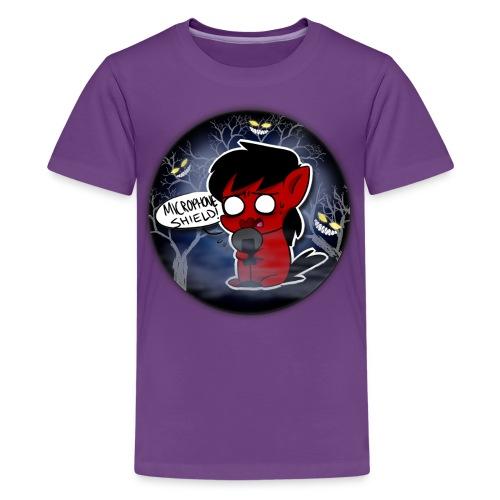 Microphone Shield! T-Shirt Kids - Kids' Premium T-Shirt