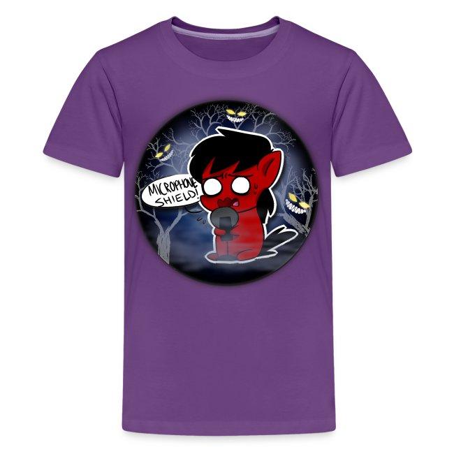 Microphone Shield! T-Shirt Kids