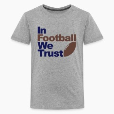 In Football we trust Kids' Shirts