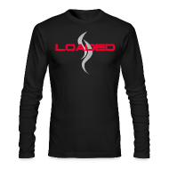 Long Sleeve Shirts ~ Men's Long Sleeve T-Shirt by American Apparel ~ LOADED logo shirt