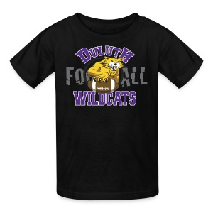 Kids Duluth Wildcats black  8yr old - Kids' T-Shirt