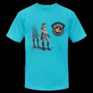 T-Shirts ~ Men's T-Shirt by American Apparel ~ Resident REPLAY