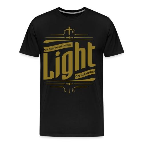 Light On Campus - Metallic Gold - Men's Premium T-Shirt