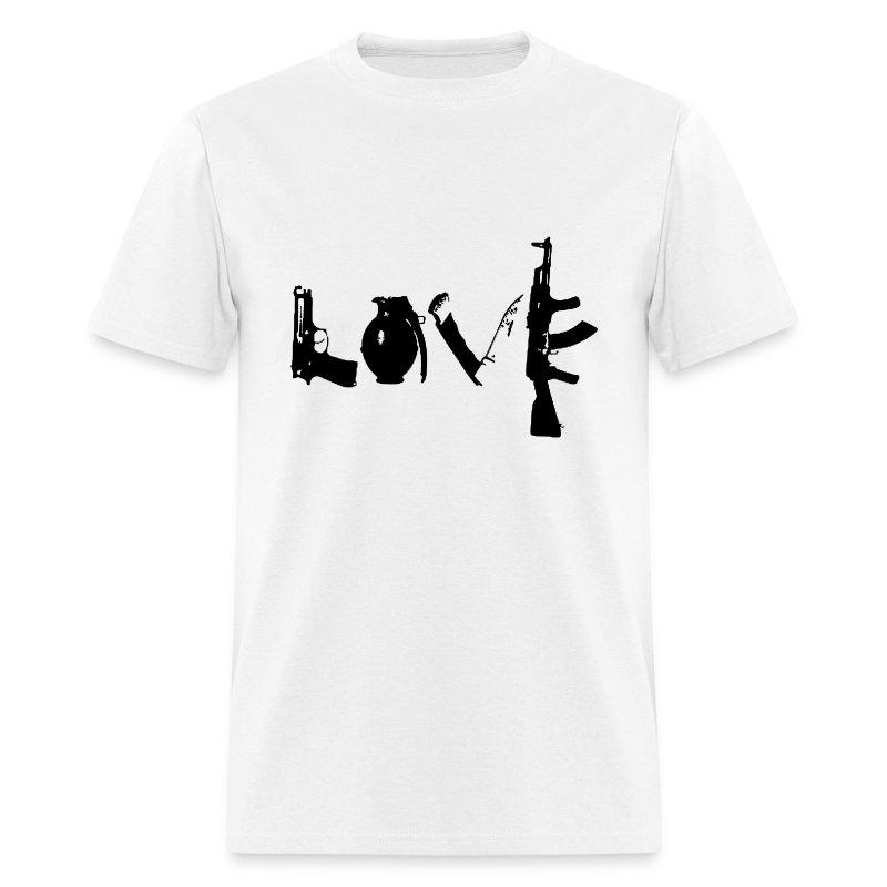 Love For Guns T-Shirt - Men's T-Shirt