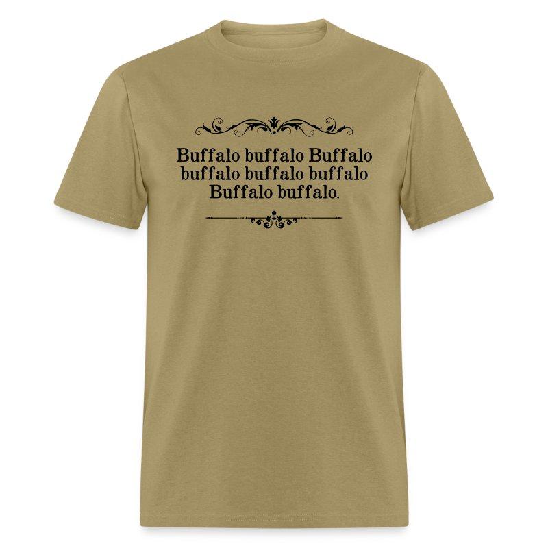 Buffalo buffalo sentence t shirt spreadshirt for Custom t shirts buffalo ny