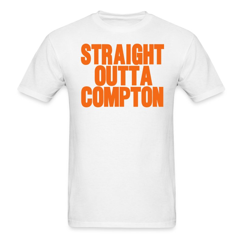 Straight outta compton t shirt spreadshirt for Straight from the go shirt