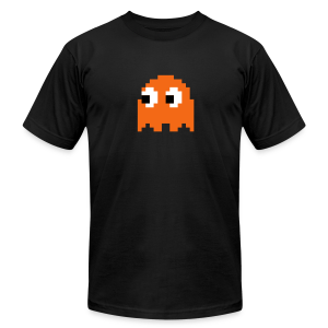 Boo - Pac Man Halloween Tee - Men's T-Shirt by American Apparel