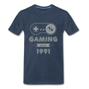 [M] Gaming Since 1991 - Men's Premium T-Shirt