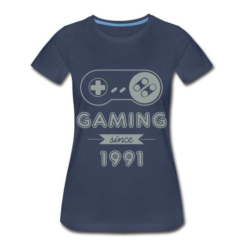 [W] Gaming Since 1991 - Women's Premium T-Shirt