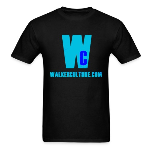 WC blue splattered - Men's T-Shirt