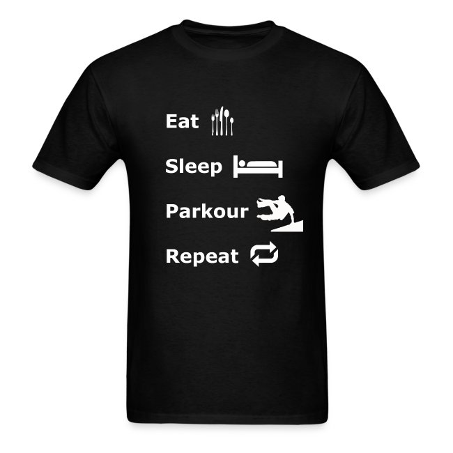 Eat Sleep Parkour Repeat