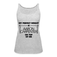 Tanks ~ Women's Premium Tank Top ~ Magcon Athletics: Aaron Weight Tank