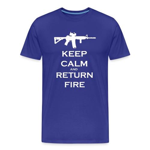 Keep calm 1 - Men's Premium T-Shirt
