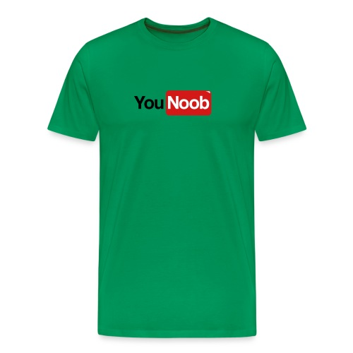younoob shirt - Men's Premium T-Shirt