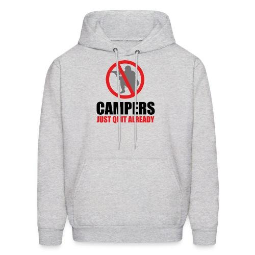 Campers shirt - Men's Hoodie