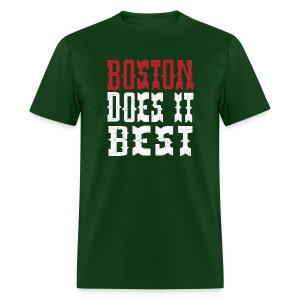 Boston Does It Best - Men's T-Shirt