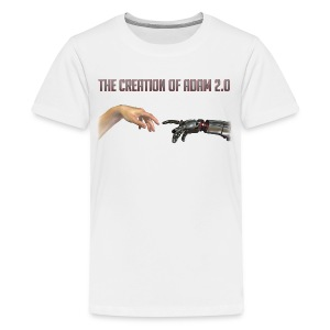 Hybrid Librarian's Creation of Adam 2.0 Kids T-Shirt - Kids' Premium T-Shirt