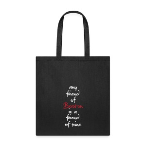 Friend Of Boston - Tote Bag