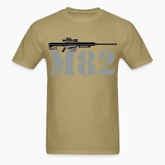 Barrett M82 .50 cal Sniper Rifle T-Shirts