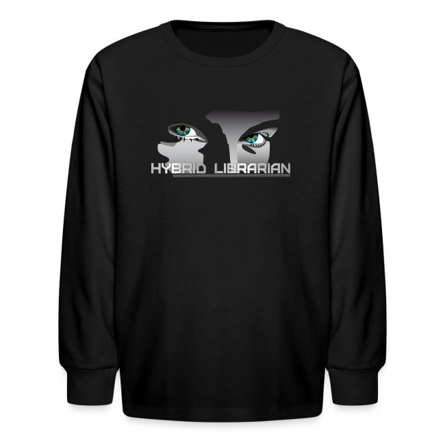 """Hybrid Librarian"" Kids Longsleeve Shirt"