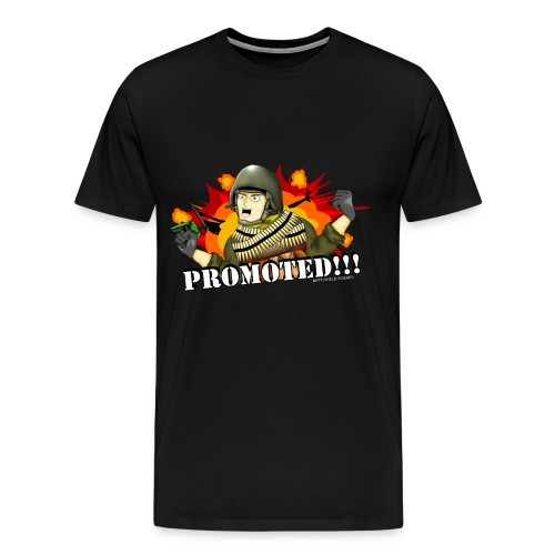 Promoted! - Men's Premium T-Shirt