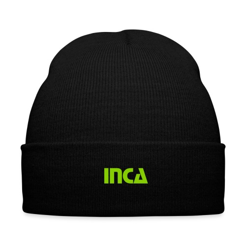 InCa Stocking cap - Knit Cap with Cuff Print