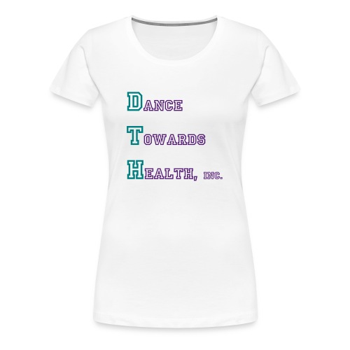 DTH-White - Women's Premium T-Shirt